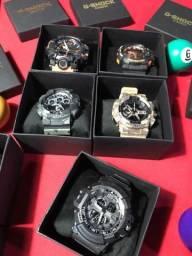 Primeira linha da G-Shock Relógios da Casio na Promoção, entregamos em todo o Brasil!