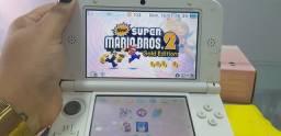 Nitendo 3Ds XL original , na caixa , com 7 jogos na memoria dele , desbloqueado