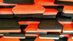 150 peças de Tatame 1m x1m, com espessura de 30mm