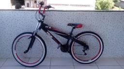 Bicicleta montada Caloi