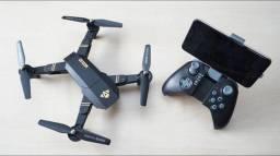 Drone Visuo Câmera/100m 2 Bateria