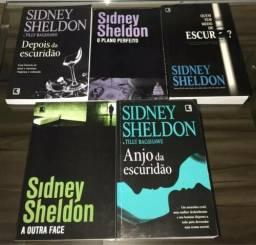 Coleção Sidney Sheldon - 5 Livros - Novinhos
