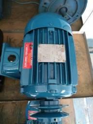 Motor elétrico 3 CV 4 Pólos 1720 RPM 220/380 V - Revisado