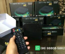 Tv box android 4k HDMI wi-fi