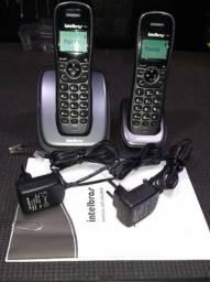 Vendo Telefone sem Fio Intelbras com Ramal Identificador de chamadas e Viva Voz