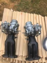 Dupla carburação Fusca 34 mm