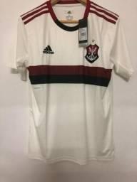 Camisa do Flamengo Branca - Pronta Entrega
