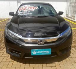 HONDA CIVIC 1.5 16V TURBO GASOLINA TOURING 4P CVT. - 2017