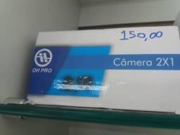 Câmera de ré 2 em 1 novo