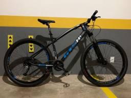 Bike Nova Shimano Acera e Altus 27 velocidades GTS i-VTEC Bicicleta Mountain Bike MTB