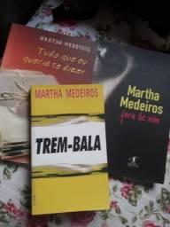 Kit três livros da Martha Medeiros