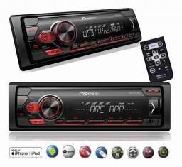 Auto Radio Usb Player Pioneer Mvh-s118ui Controle Mixtrax Fm