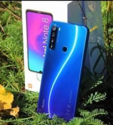 Promoção Smartphone Xiaomi Redmi Note 8 64GB Azul + Brindes + Frete Grátis