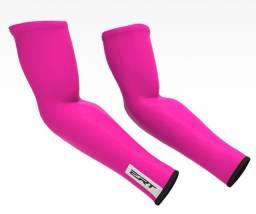 Manguito De Verão Ert Pink Fluor Ciclismo