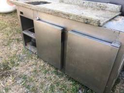 Geladeira - balcão frigorífico 2 portas