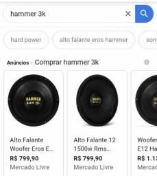 Hammer 3k 12 polegadas