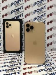 Disponivel Hoje! 11 Pro Max 64GB Gold - Seminovo - Somos Loja Niterói