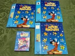 Revistas Magic English 1 ao 32 (falta o numero 23) + 1 dvd