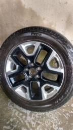 Título do anúncio: Roda + pneu Renegade aro 17