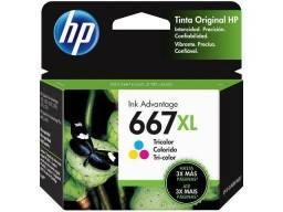 Cartucho HP 667XL Colorido Original (3YM80AL)
