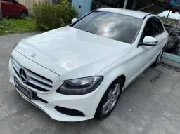 Mercedes c 180 avantgarde 2016 JÁ financiada (70 mil entrada)
