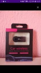 Título do anúncio: Adaptador Receptor Bluetooth Usb P2 Musica Chamada Som Carro