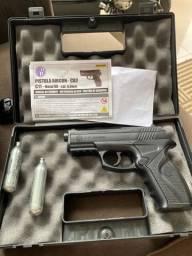 Pistola Airgun 6mm metal