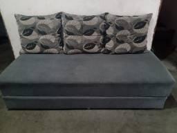 Sofá cama 400, mesa 400 armário 150