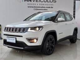 Título do anúncio: Jeep Compass Limited 2.0 Flex 2021 (81) 99869.8623 (Bianca)