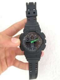 Título do anúncio: Relógio G- Shock GA-100 A prova d'água Preto Fosco