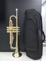 Trompete Sib Weril ET1172 C/Capa Semi Novo-Novinho-Troco-Parcelo 12x