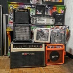 Amplificadores guitarra baixo violão teclado