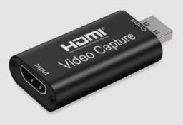 Placa Captura Usb Hdmi 4k 1080p Vídeo Live