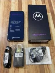 Vendo Moto One Fusion 128 GB Novo Nunca Usado Divido Nos Cartões!