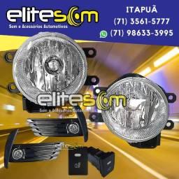 Kit Farol de Milha Corolla instalado na Elite Som