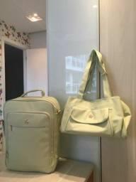 Título do anúncio: Bolsa e mala de maternidade.