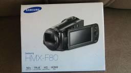 """Título do anúncio: Filmadora Samsung HMX-F80 HD LCD 2,7"""" - HDIS Zoom Óptico 52x + Cartão de 8GB."""