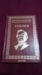 Livro Biografia de Abraham Lincoln