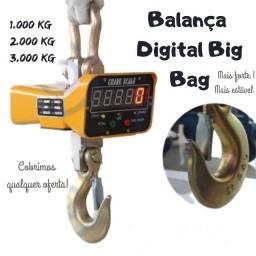 Balança Digital Suspensa Big Bag 1 Tonelada