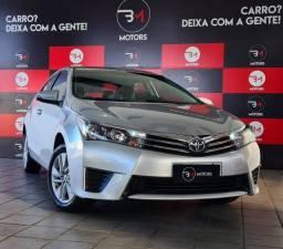 Toyota Corolla GLi 1.8 | 2017 | Completo | Flex | Automático