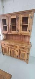 Armário Rústica 100% madeira maciça, novo