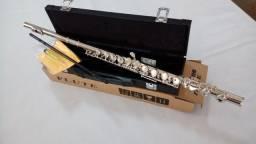 Flauta Jahnke Transversal 16 Chaves - NOVA - Parcelo 12x