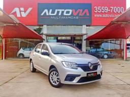 Título do anúncio: Renault Logan Life 1.0 12V - Novo 7.600 KM - 2021
