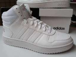 Adidas Hoops branco original novo tam 37