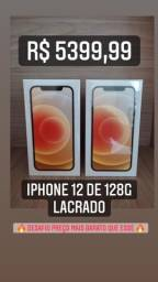 iPhone 12 de 128 (1 ano garantia)