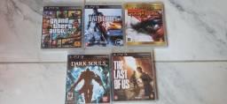 Título do anúncio: Jogos Playstation 3 originais