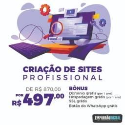 Criação de Sites Profissionais - Marketing Digital