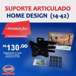 Suporte articulado Home Design  hdl-117b {14-42}- Entrega Gratis(