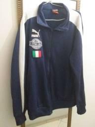 Jaqueta Itália Puma azul marinho retrô