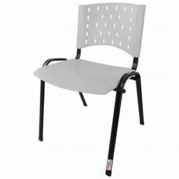 Título do anúncio: Cadeira Fixa Escritório Branca